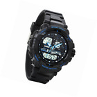 Avaner Outdoor Sports Electronic Kids Watch Blue Analog Dual Time Water Re