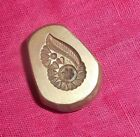 India Vintage Bronze Jewelry Die Mold/Mould Hand Engraved Ear Tops designs J5001