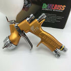 Devilbiss Gti Pro Lite Gold 1.3mm Nozzle Lvmp Car Paint Tool Pistol Spray Gun