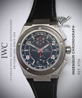 IWC Ingenieur Chronograph Mercedes AMG Titanium Black Mens Watch Box/Papers 3725