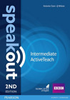 Speakout Intermediate 2Nd Edition Active Teach (UK IMPORT) CD NEW