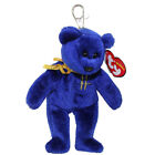 TY Beanie Baby - OMNIA the Bear ( Metal Key Clip - Harrods UK Excl ) (5.5 inch)