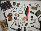 Vintage Junk Drawer Lot Knives Lighters and other neat stuff