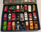 48 car Case miscellaneous vintage Hot wheels Matchbox Lesney Corgi jr Beautiful