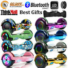 65 Hoverboard Electric Self Balancing LED Lights Speaker Scooter Hover Board