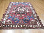 C1930 VG DY ANTIQUE  KARACHE SERAPI HERIZ VISS 3.9x5 ESTATE SALE RUG