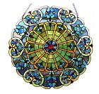 Stained Glass Victorian Window Panel  23