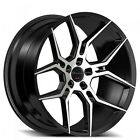 For 5 series 22 Staggered Giovanna Wheels Haleb Black Machined Popular Rims