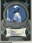 2004 UD Etchings - ANDRE DAWSON- Silver Autograph - EXPOS CUBS - #d 250