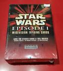 Star Wars Episode 1 WIDEVISION trading cards box set