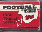 1989 Topps NFL Football Traded Set Thurman Thomas RC