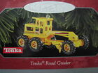 1998 Hallmark TONKA ROAD GRADER Ornament DIE-CAST METAL
