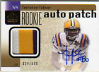 2011 SP Authentic #215 Terrence Toliver Jersey Autograph Card Serial #'d 699