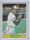 Eddie Murray Cards, Rookie Cards and Autographed Memorabilia Guide 17