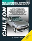 Repair Manual fits 1999-2007 GMC Sierra 1500 Yukon Yukon XL 2500  CHILTON BOOK C