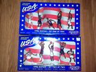 Dream Team 1996 Starting Lineup Basketball Figures Both Sets - New in Box