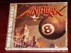 Anthrax: Volume 8, The Threat Is Real CD 1998 Ignition USA IGN 7-4034-2 Original