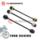 For Suzuki GSXR750 GSX-R 750 16 17 Front Wheel Axle Fork Sliders Crash Protector