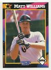 1992 Kenner Starting Lineup Baseball Card - Matt Williams - San Francisco Giants