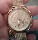 Tommy Hilfiger All Gold Toned Stainless Steel Mens Watch