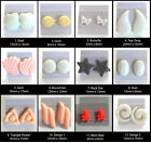 Stud Earrings Your Choice Of Style Plastic Post Women Or Girls NO METAL CD C