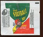 1970 Topps Football Card 10 Cent Wax Wrapper