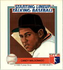 1988 Starting Lineup Giants #11 Candy Maldonado