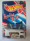 Hot Wheels Customized Replica Holiday 96 Employee VW Drag Bus