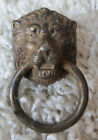SMALL ANTIQUE LION'S HEAD DRAWER RING PULL