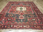 C1930 ANTIQUE VE DY KAZAK KARACHEH VISS SERAPI HERIZ  5.3x6.4 ESTATE SALE RUG