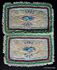 – 1840 BEADED ON DEER HIDE - PENOBSCOT