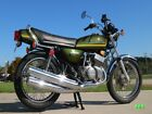 Kawasaki 400 Triple 1976 KH400 A3 Decal set, Olive Green - The BEST!