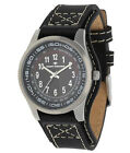 Tom Tailor Sporty Men's Watch with Underlay Strap Real Leather Arabic Numbers