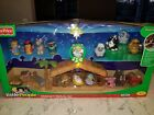 New 2008 Fisher Price Little People Deluxe Musical Light Up Nativity 17+ pc Set