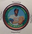 1971 TOPPS BASEBALL COINS #41 HOUSTON ASTROS DON WILSON ODD-BALL EX-MT