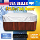Polyethylene Hot Tub Spa Cover Cap Waterproof Protector Heat Cold Resistant US