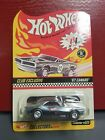 HOTWHEELS RLC CLUB EXCLUSIVE 67 CAMARO CHROME WITH BLACK STRIPE MEMBERSHIP CAR