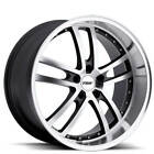 18 Staggered TSW Wheels Cadwell Gunmetal and Lip Rims