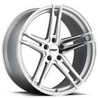 19 TSW Wheels Mechanica Silver Forged Rims