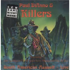 PAUL DIANNO AND KILLERS South American Assault Live CD Canada Magnetic Air 1994