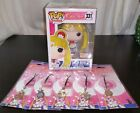 Funko POP! Super Sailor Moon (BoxLunch Exclusive)+ Matching Collector Charms-NEW