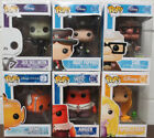 Lot of 6 Funko POP! Disney Figures (Jack Skellinton Mary Poppins Carl Nemo Anger