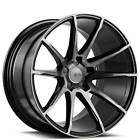 4Rims 20 Savini Wheels Black Di Forza BM12 Gloss Black with DDT Rims FS