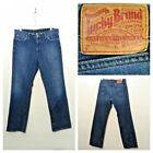 Lucky Jeans Mens 33 Measured at 34x30 Killer Fade Vintage Straight invF4438