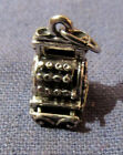 VINTAGE BEAU 3D CASH REGISTER STERLING SILVER CHARM FOR CHARM BRACELET