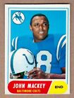 1968 Topps Football Cards 2