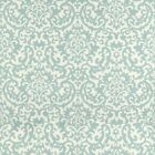 Fabric Upholstery Drapery Waverly Duncan Spa Blue Damask Floral CC43