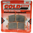 Front Disc Brake Pads for Ducati 1098R Superbike 2009 1099cc By GOLDfren