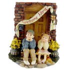 Boyds Bears Resin KYLE & MEGAN WELCOME HOME Polyresin Dollstone 35015