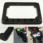 JDM Style 100% Real CARBON FIBER License Plate Frame #Ht19 US Scooter Motorcycle